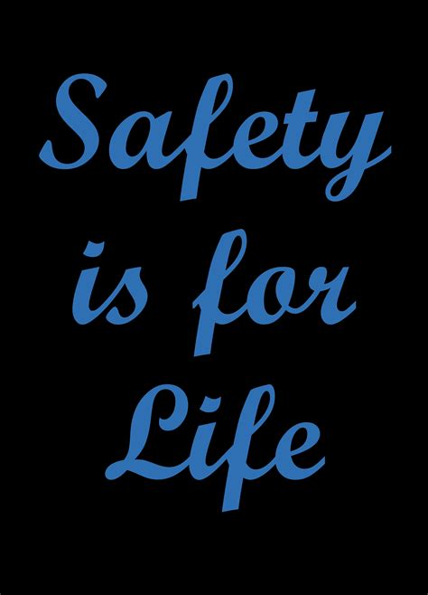 Safety Message Floor Mat   Safety Is For Life