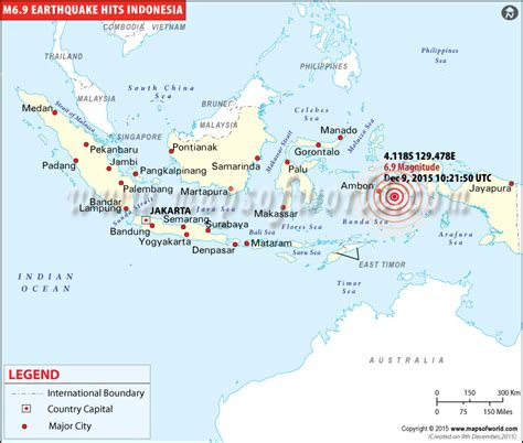 earthquake east java indonesia earthquakes map areas affected by earthquakes