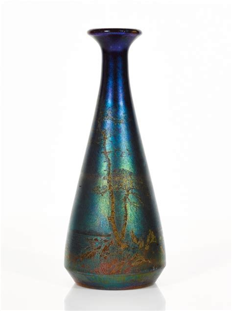 Lustre Vases by Nouveau Lustre Vase
