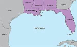 map us states gulf mexico unintended journeys hurricane in the gulf
