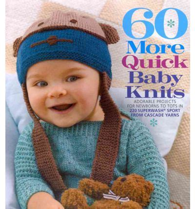 60 baby knits 60 more baby knits sixth books 9781936096435