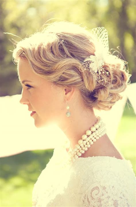 Vintage Bridal Hair Up by Hair And Make Up By Steph How To Choose Your Wedding