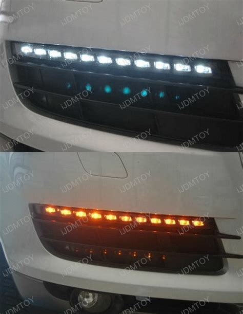 audi q7 led lights audi q7 oem fit led daytime running drl lights led day