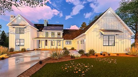 5 bedroom farmhouse five bedroom modern farmhouse with in law suite 62666dj