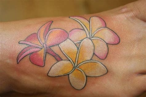 frangipani tattoos designs 120 best plumeria and water images on