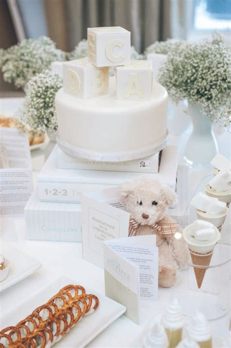 White Baby Shower Ideas by All White Baby Shower Ideas Baby Ideas