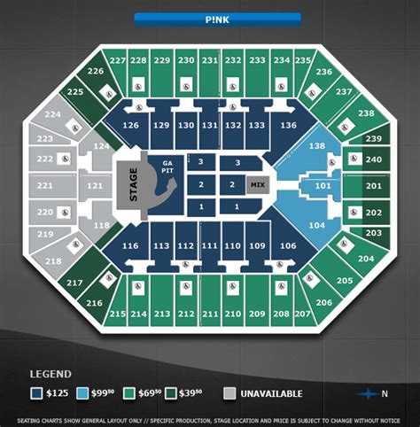 Target Center Floor Plan | p nk