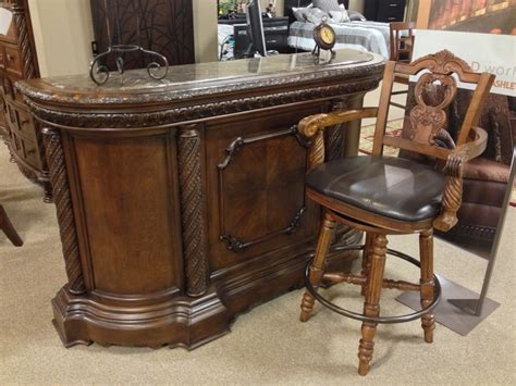 north shore  piece bar set  ashley furniture  tricities  world pinterest chang