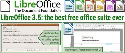 best office suite free libreoffice great free office suite gets upgrades