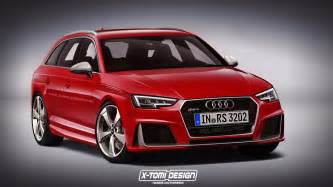 Audi Rs 4 2017 Audi Rs4 Avant Rendered But What Will Power It
