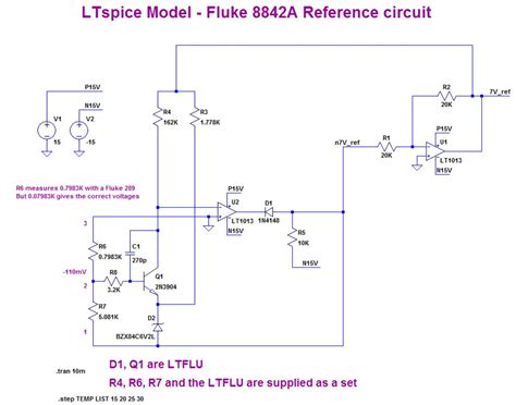 zener diode ltspice model the ltflu aka sza263 reference zener diode circuit page 1