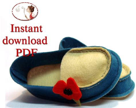 pattern for felt baby shoes baby shoes sewing pattern wool felt mocs