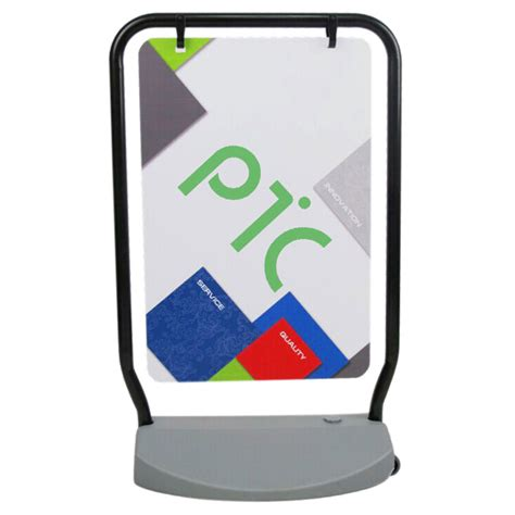 swing display swing poster board ptc display