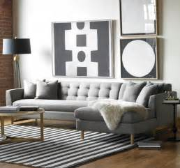 Gray Couch Decor Designing Rooms With An L Shaped Sofa Feng Shui Interior