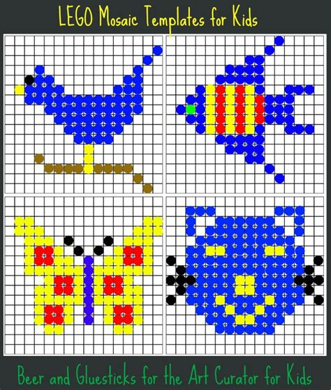 mosaic templates for lego mosaic build some today