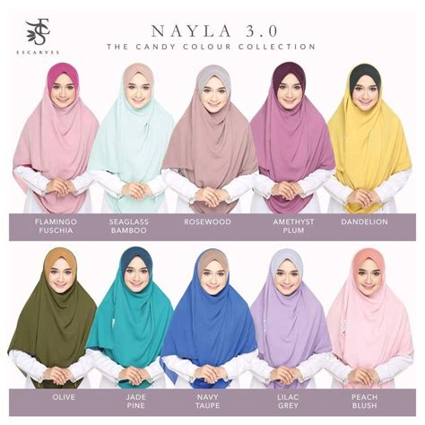 Nayla Shawl 1 3 Gaya modesty closet instant shawl nayla 3 0 escarves