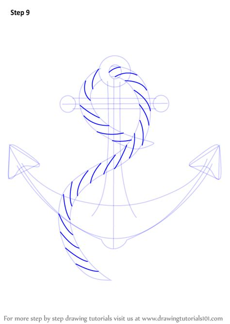 boat drawing tutorial learn how to draw a boat anchor boats and ships step by