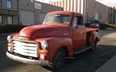 1954 gmc 100 5 window bed truck classic gmc