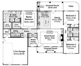 Home Design For 2000 Sq Ft Area The Pecan Meadow 6336 3 Bedrooms And 2 Baths The House