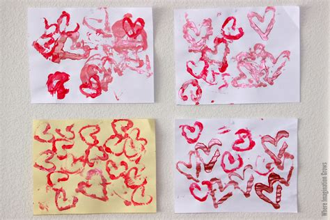 crafts using pipe cleaners s day printmaking craft with pipe cleaners