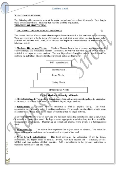 Non Sexual Mba by Ob Notes For Mba