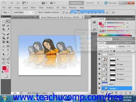 tutorial dasar photoshop cs5 pdf photoshop cs5 tutorial creating layers layer groups sets