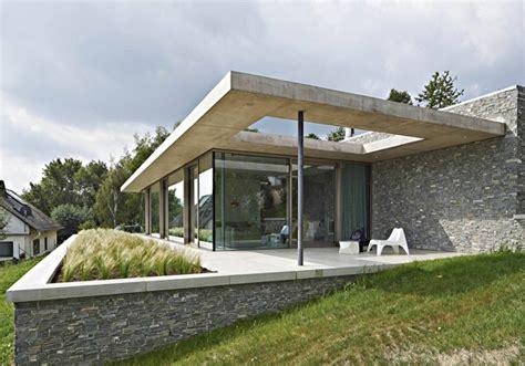 bungalow architektur steillage 252 berm rhein bungalow in bacharach pape