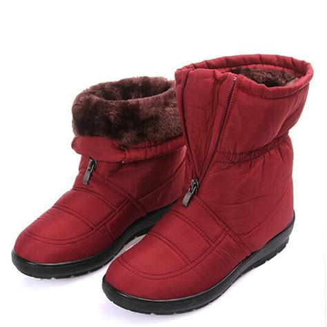 casual winter boots for fashion casual winter snow boots s waterproof ankle