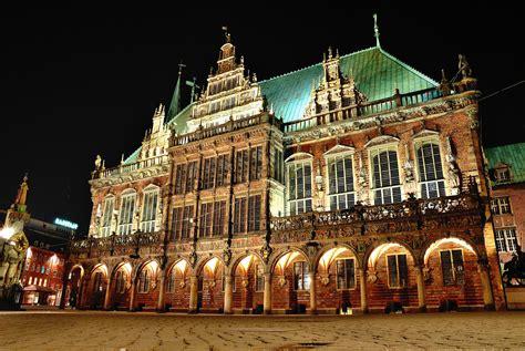 bremen town hall city hall  bremen thousand wonders