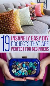 Easy Diy Projects by 19 Easy Diy Projects For Beginners New Craft Works