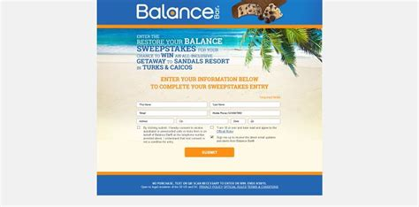 Balance Sweepstakes Daily - restore your balance sweepstakes restoreyourbalancesweeps com