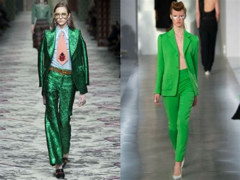 Ur Slim Chiffon Set Green Intl green womens suit suit la