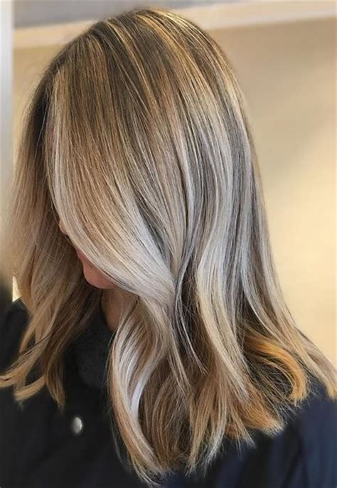 light blonde highlights on dark blonde hair de 653 b 228 sta hair color bilderna p 229 pinterest
