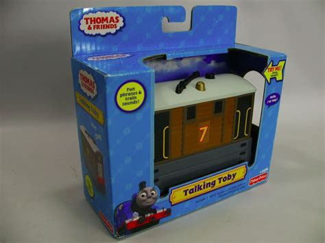 Friends Fisher Price Toby friends talking toby car t0919 tank engine fisher price new ebay