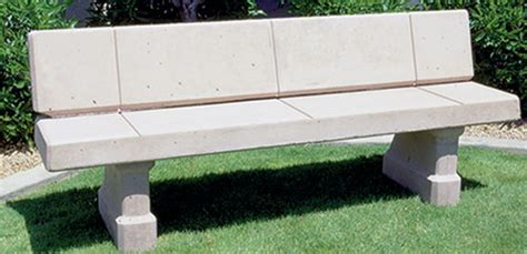 precast concrete bench concrete landscape benches outdoor concrete benches