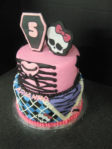 monster high cake ideas  designs echomon