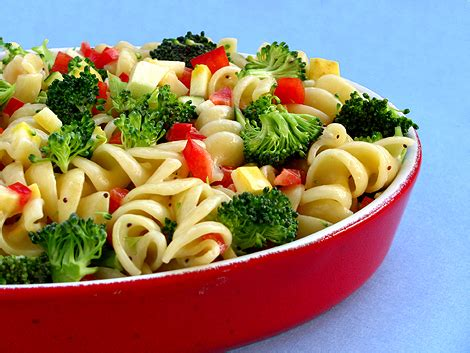 pasta salad recipes types primavera bake fagioli carbonara shapes dishes sauce photos pics