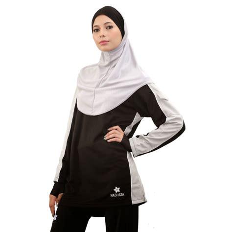 Baju Senam Muslim Murah inilah model baju senam muslim yang oke