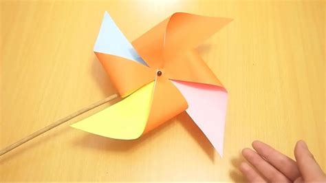 How To Make A Pinwheel Out Of Paper - how to make a pinwheel