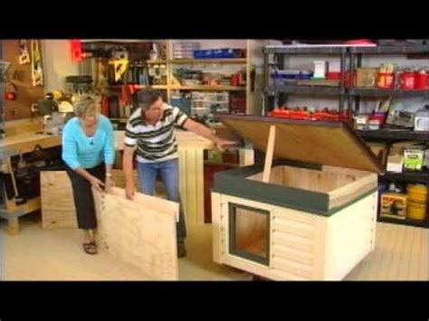 how to build an insulated dog house for large dog how to build an insulated dog house youtube