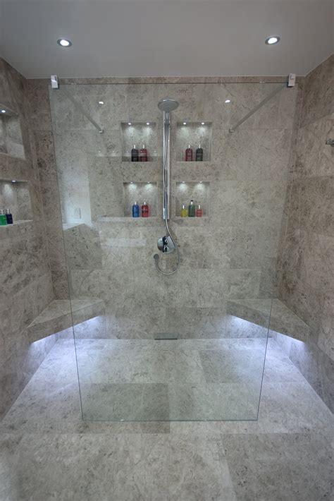 Master Bathroom Ideas Houzz master en suite wet room stone amp chrome