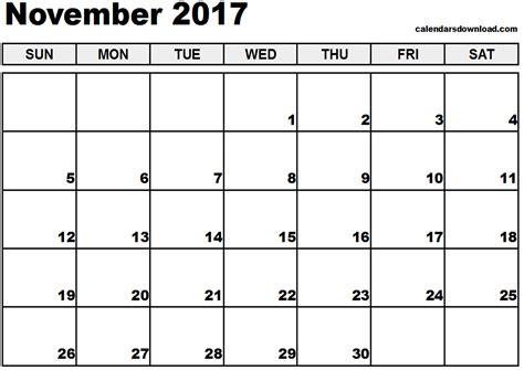 printable november 2017 calendar canada november 2017 calendar canada printable templates with