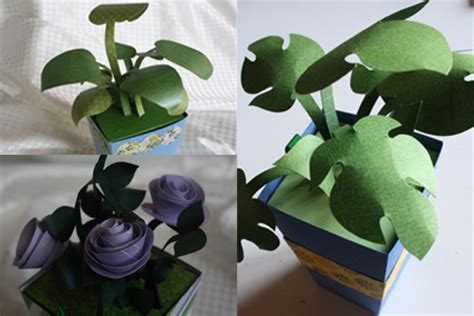 How To Make Paper Plants - paper plants tally s treasury