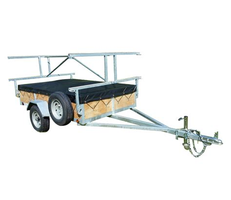 canoes trailers 8 place canoe or kayak trailer remackel trailers