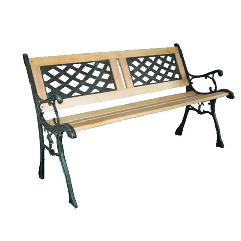 iron bench legs uk new 3 seater outdoor home wooden garden bench with cast