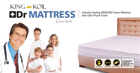 Dr Mattress by Products Kingkoil Products For Home Aanal Trading