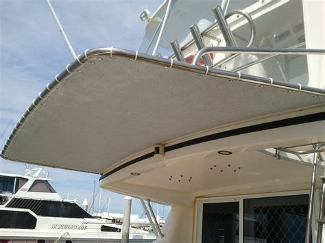 Boat Awnings by Marine Trimming