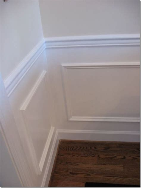 diy molding diy picture frame wainscoting what i would change