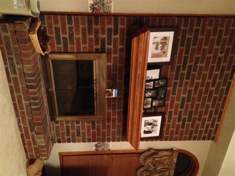 options  contemporary brick fireplace makeover