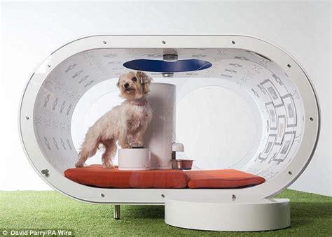 futuristic pet technologies gadgets samsung designs 163 20 000 futuristic dog kennel daily mail